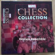 Marvel Chess Collection Binder Eaglemoss Publications